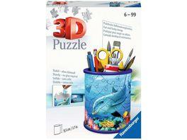 Ravensburger Puzzle 3D Puzzle Organizer Utensilo Unterwasserwelt