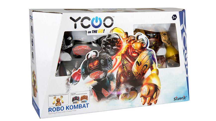 Silverlit YCOO Robo Kombat Viking Battle Pack