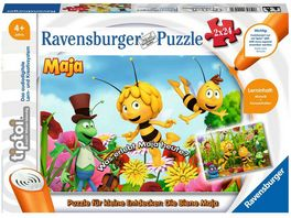 Ravensburger tiptoi Puzzle fuer kleine Entdecker Die Biene Maja