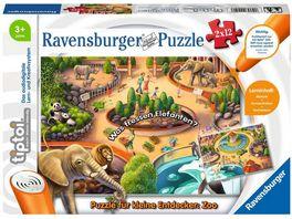Ravensburger tiptoi Puzzle fuer kleine Entdecker Zoo