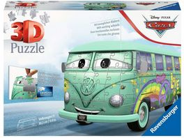 Ravensburger Puzzle 3D Puzzle Autos Volkswagen T1 Cars Fillmore