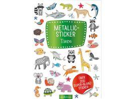 Metallic Sticker Tiere Ueber 200 Super Glanz Sticker