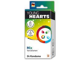 YOUNG HEARTS Kondome Mix