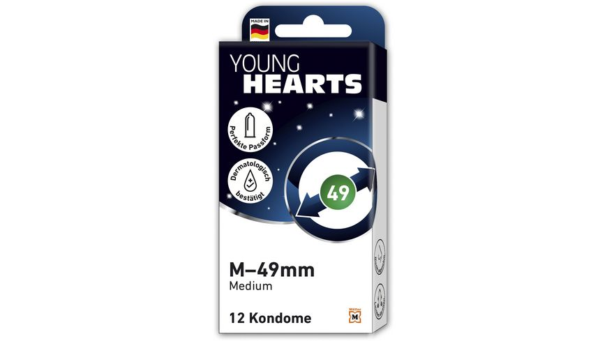 YOUNG HEARTS M – 49mm