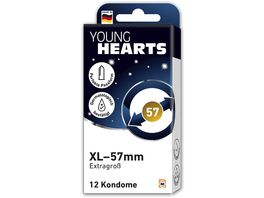 YOUNG HEARTS Kondome XL 57mm