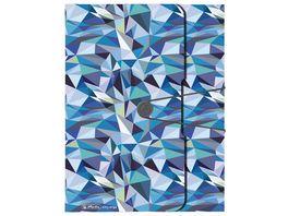 herlitz Sammelbox A4 PP Wild Animals Blue