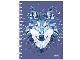 herlitz Spiralboutiquebuch A5 Wild Animals Wolf