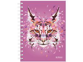 herlitz Spiralboutiquebuch A5 Wild Animals Luchs