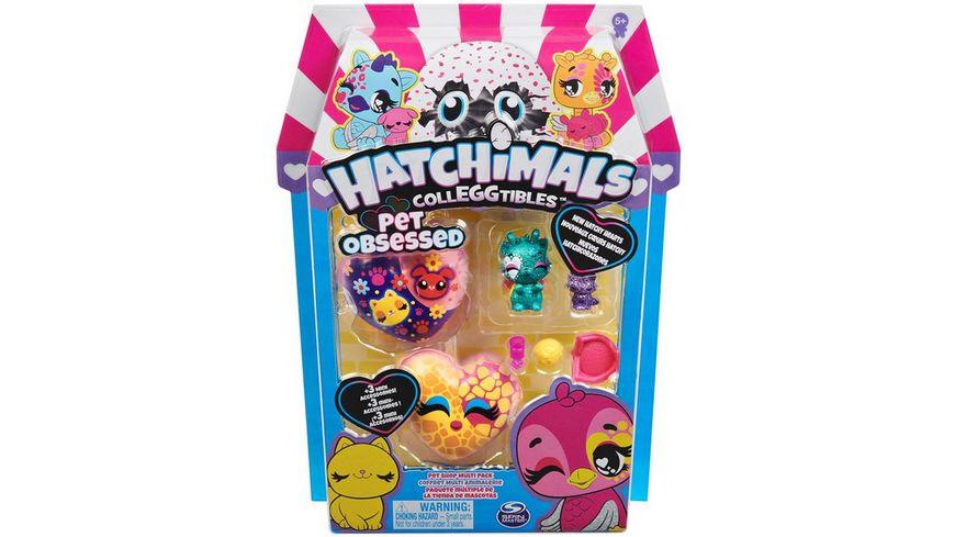Spin Master Hatchimals Colleggtibles Serie 7 Hatchipets 4 Pack