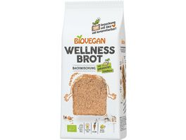 BIOVEGAN Brotbackmischung Wellness