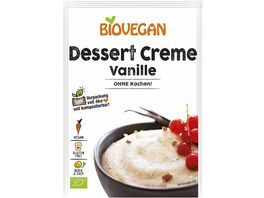 BIOVEGAN Dessert Creme Vanille