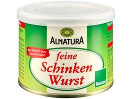 Alnatura feine Schinkenwurst