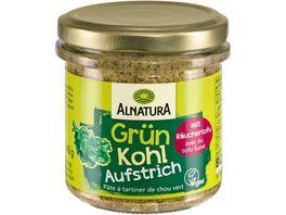 Alnatura Brotaufstrich Gruenkohl