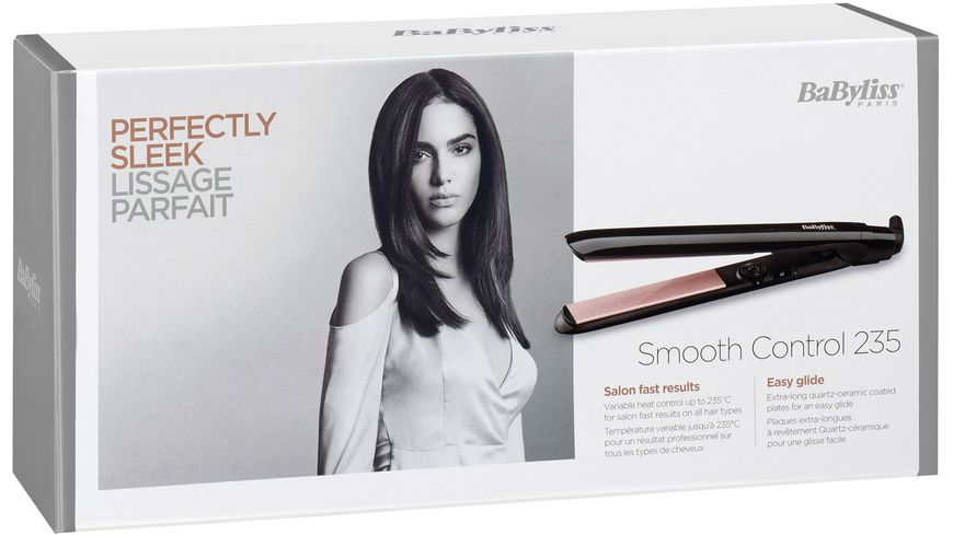 BaByliss Haarglaetter Smooth Control 235 ST298E