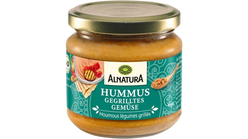 Alnatura Hummus gegrilltes Gemüse