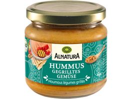 Alnatura Hummus gegrilltes Gemuese 180g