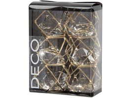 EUROSAND Streudekoration Brillant Metal Shapes Rhomboid