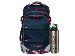 NEOXX Rucksack Set ACTIVE 2teilig My heart blooms