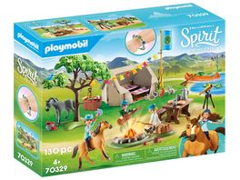 PLAYMOBIL 70329 Spirit Riding Free Sommercamp
