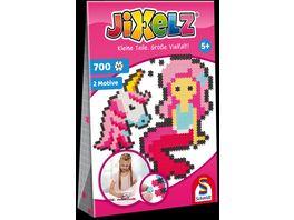 Schmidt Spiele Jixelz Einhorn und Meerjungfrau 700 Teile