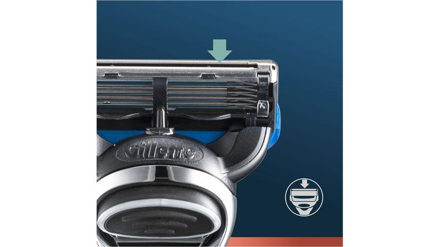 King C Gillette Rasierapparat Aquagrip Blau Chrome mit 1 Klinge