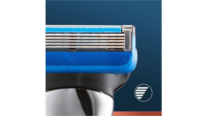 King C Gillette Rasierapparat Aquagrip Braun Chrome mit 1 Klinge