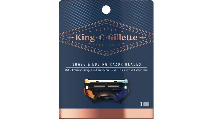 Gillette Klingen System 3er