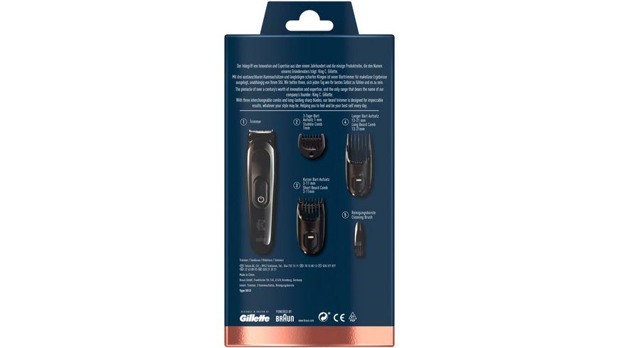 King C Gillette Elektrischer Barttrimmer