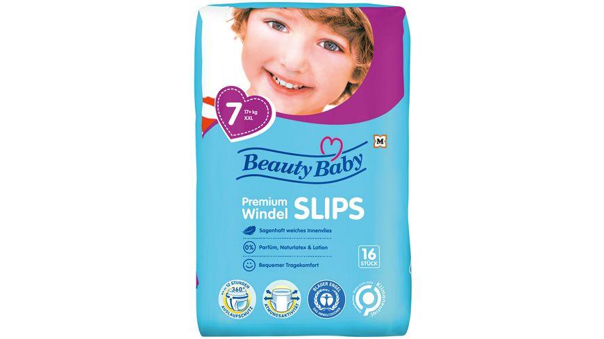 Beauty Baby Premium Windelslips, Größe 7 XXL, 17+ kg