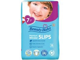 Beauty Baby Premium Windelslips Groesse 7 XXL 17 kg