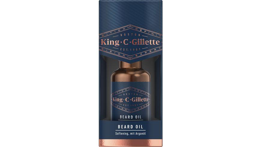 Gillette Bartpflege King C. Bartöl 30ml