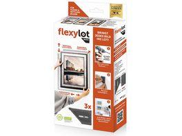 flexylot BASIC Bildaufhaengungssystem 3er Set