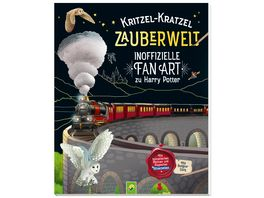 Kritzel Kratzel Zauberwelt Inoffizielle Fan Art zu Harry Potter