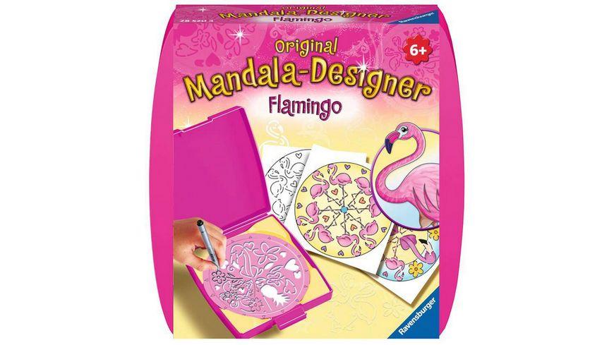 Ravensburger Beschaeftigung Mini Mandala Designer Flamingo