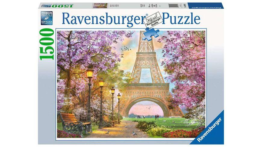 Ravensburger Puzzle Verliebt in Paris 1500 Teile