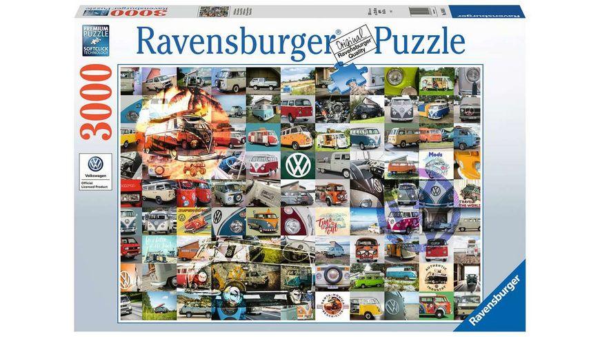 Ravensburger Puzzle 99 Bulli Moments 3000 Teile