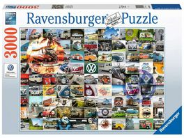 Ravensburger Puzzle 99 Bulli Moments 3000 Teile