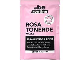 be routine Rosa Tonerde Maske