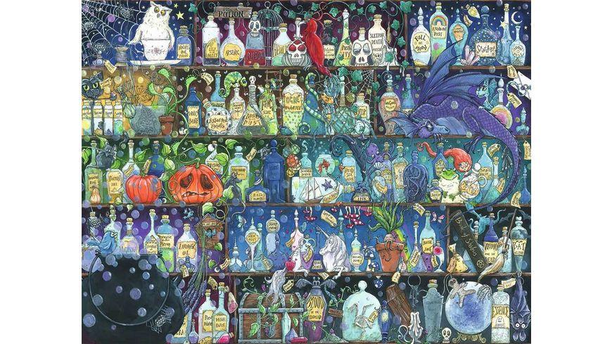 Ravensburger Puzzle Der Giftschrank 2000 Teile