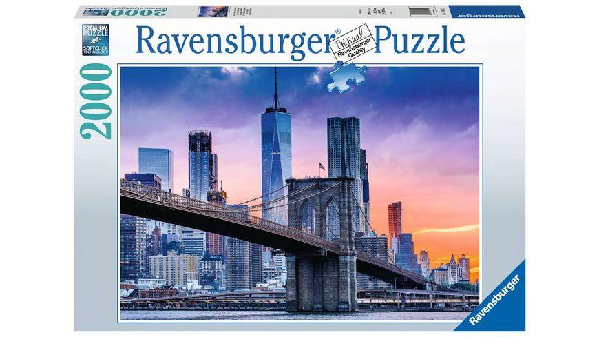 Ravensburger Puzzle - Von Brooklyn nach Manhatten - 2000 Teile