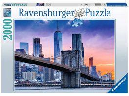 Ravensburger Puzzle Von Brooklyn nach Manhatten 2000 Teile