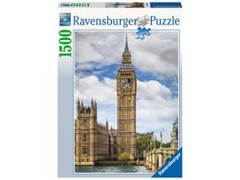 Ravensburger Puzzle Findus am Big Ben 1500 Teile