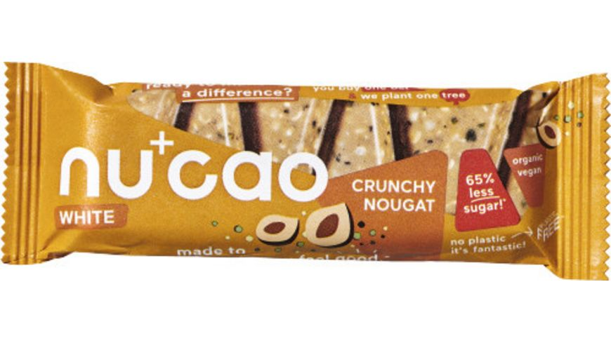 Nucao - White-Crunchy Nougat