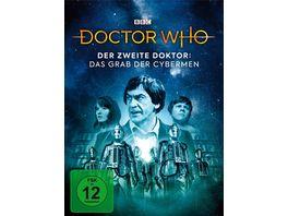 Doctor Who Der Zweite Doktor Das Grab der Cybermen LTD Mediabook 2 DVDs
