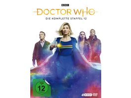 Doctor Who Staffel 12 4 DVDs