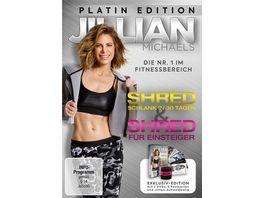 Jillian Michaels Platin Edition mit Shred und Shred fuer Einsteiger 2 DVDs