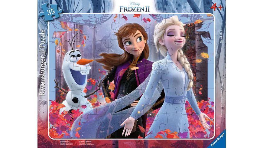 Ravensburger Puzzle Frozen Magische Natur 35 Teile