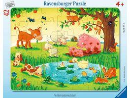 Ravensburger Puzzle Kleine Tierfreunde 42 Teile