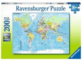 Ravensburger Puzzle Die Welt 200 XXL Teile