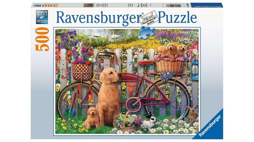 Ravensburger Puzzle Ausflug ins Gruene 500 Teile